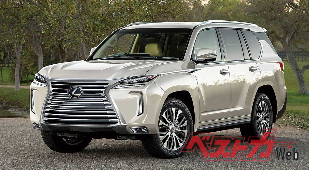 Next Generation Lexus Lx 500 Coming In 2020 Lexus Enthusiast