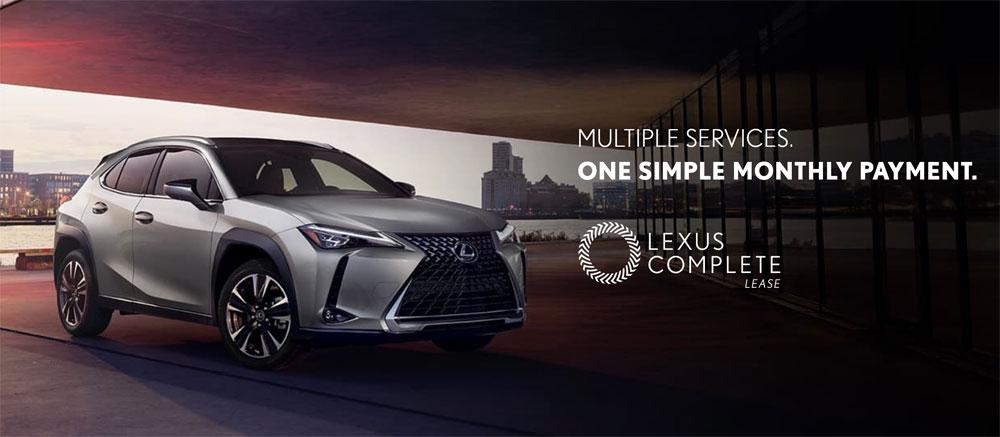 Lexus UX Complete Lease
