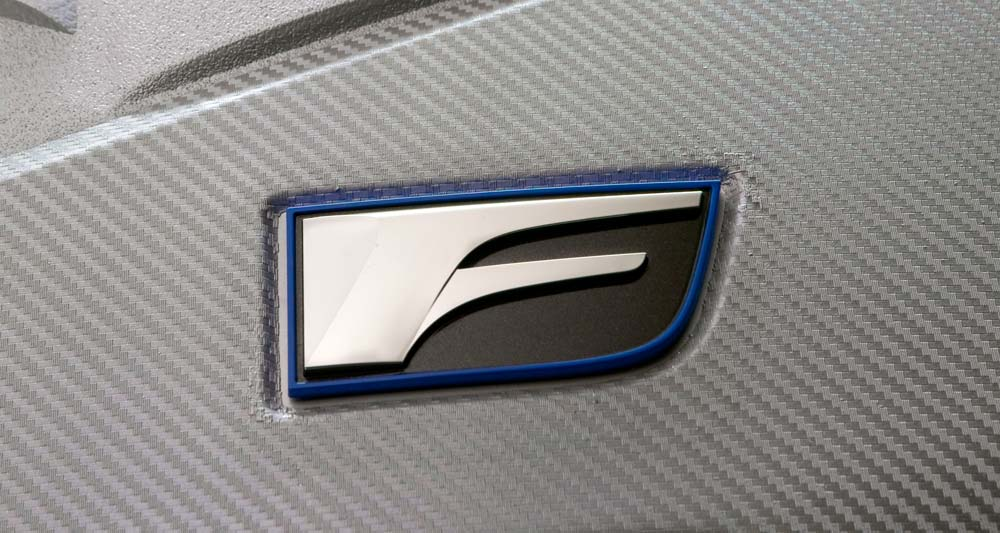 Lexus F Badge