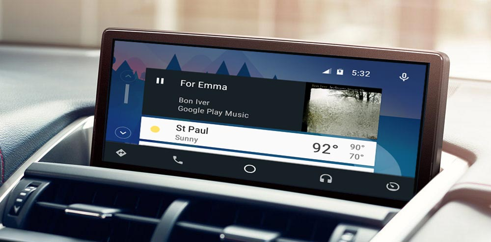 Lexus Android Auto