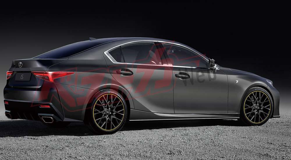 Lexus IS Next-Generation Rear