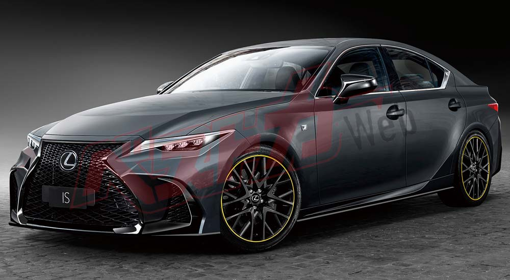 Lexus IS Next-Generation Front