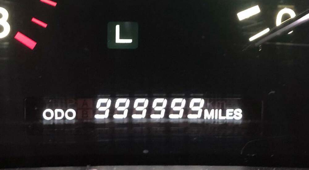Lexus LS Odometer