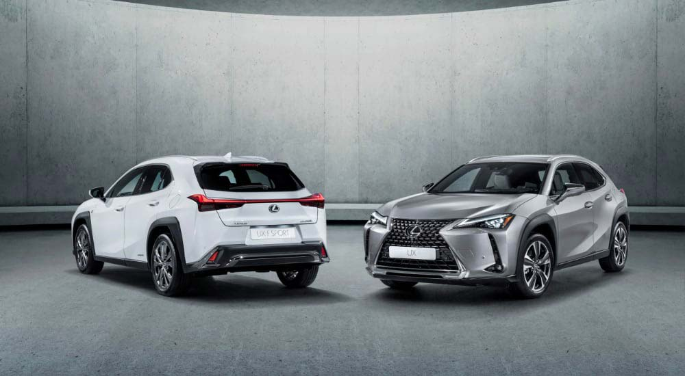Lexus Sales UX UK