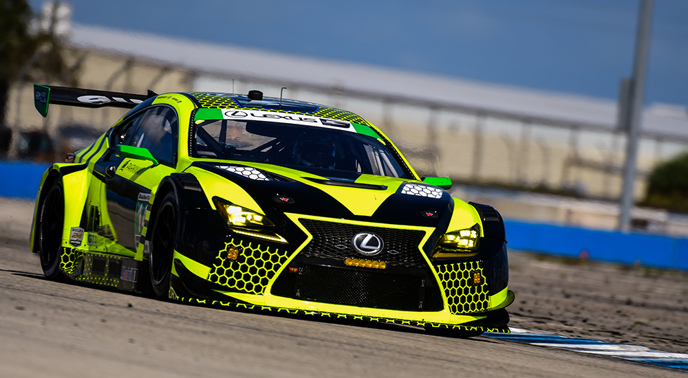 Lexus AIM RC F Racing