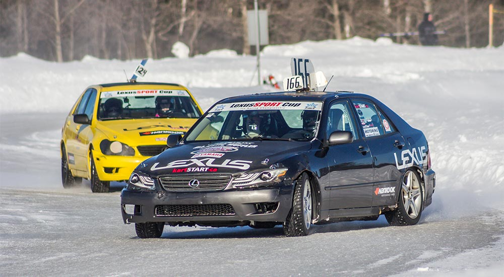Lexus IS Cup Challenge Ice Racing