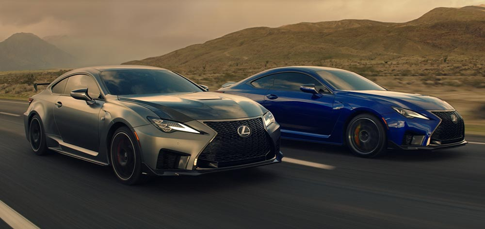 Lexus RC F Commercials