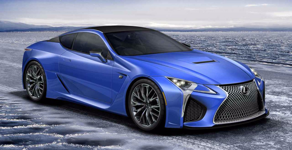 Lexus LC F Rendering