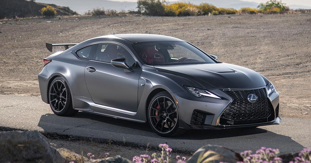 Lexus RC F Track Edition Pricing