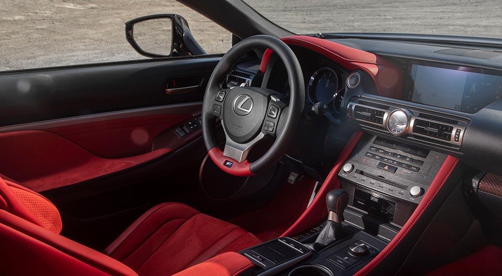 Lexus RC F Track Interior