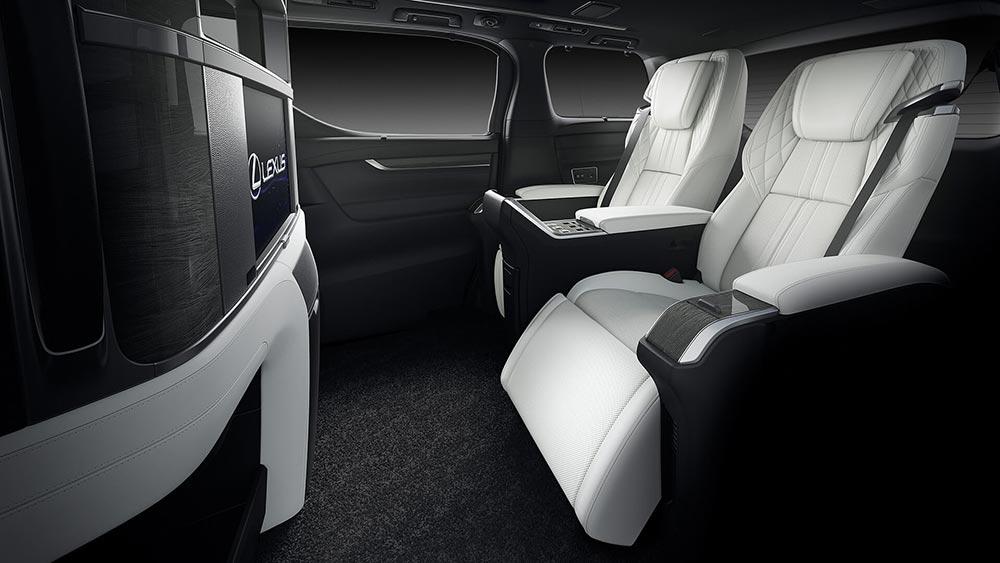 Lexus LM Seats