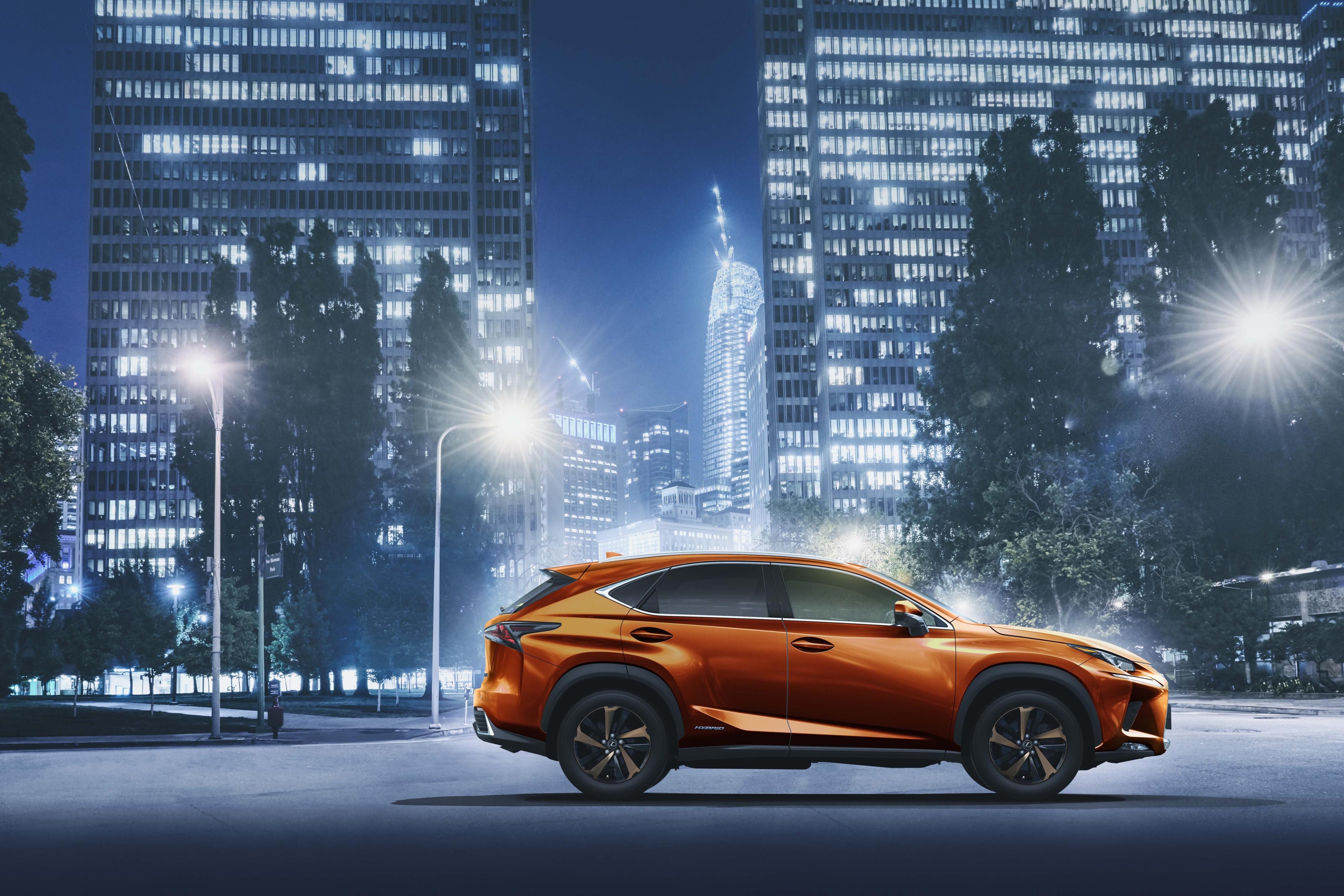 Lexus Japan Offers 2020 Nx Crossover In Cadmium Orange Lexus