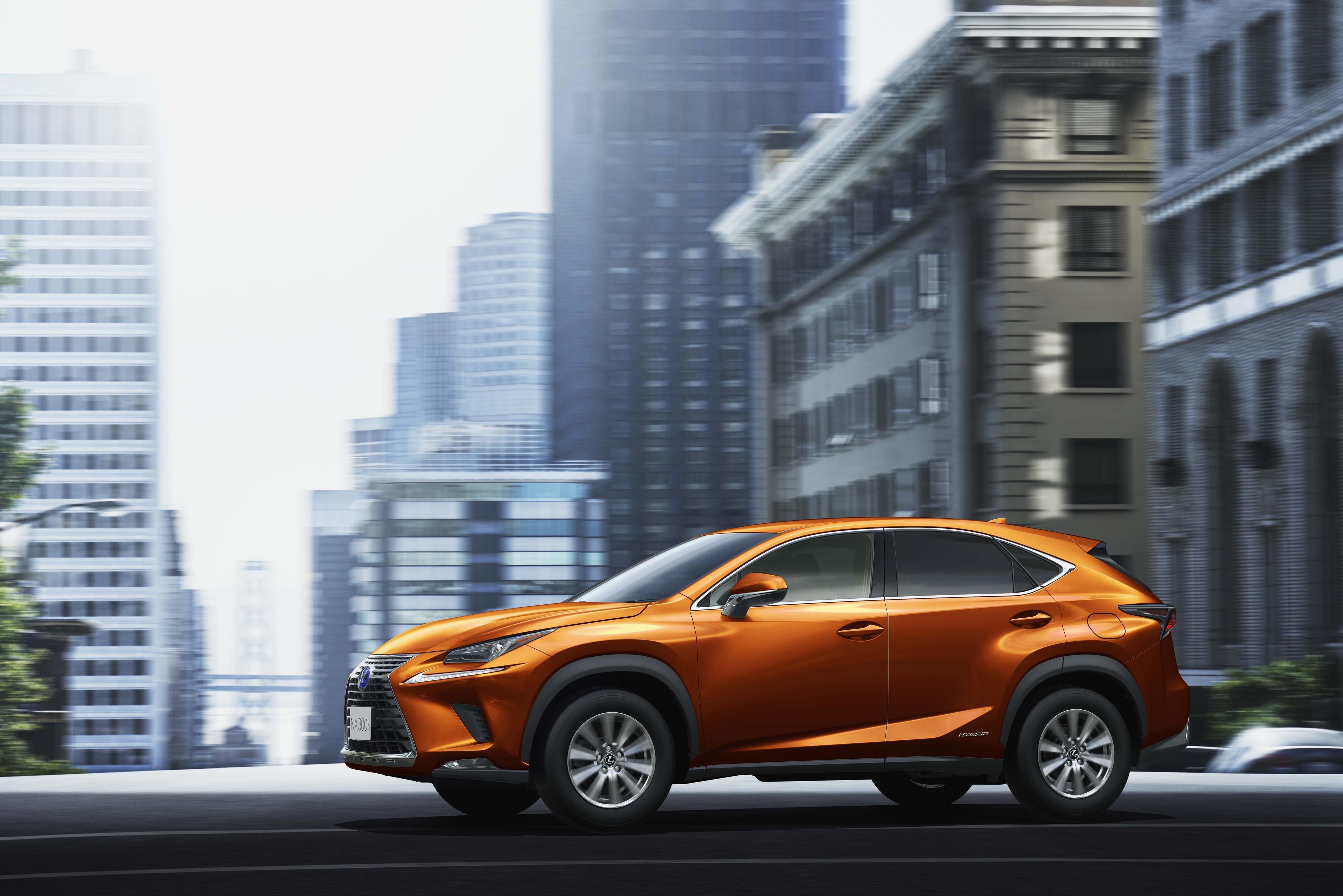 lexus japan offers 2020 nx crossover in cadmium orange
