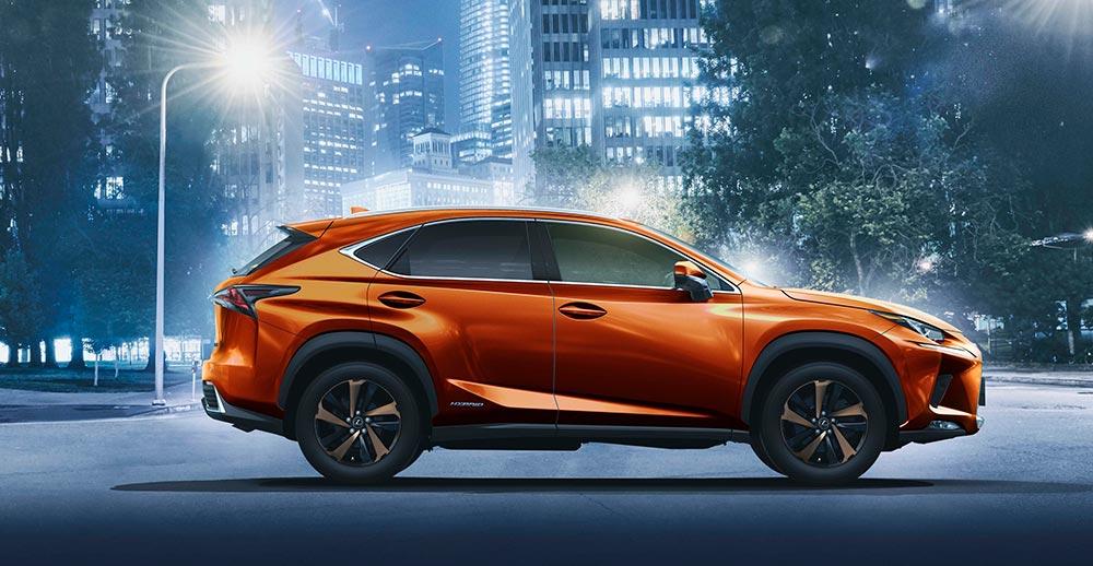 Lexus NX Cadmium Orange