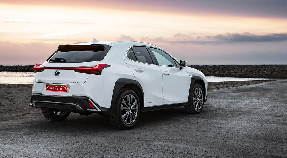 Lexus UX EV China