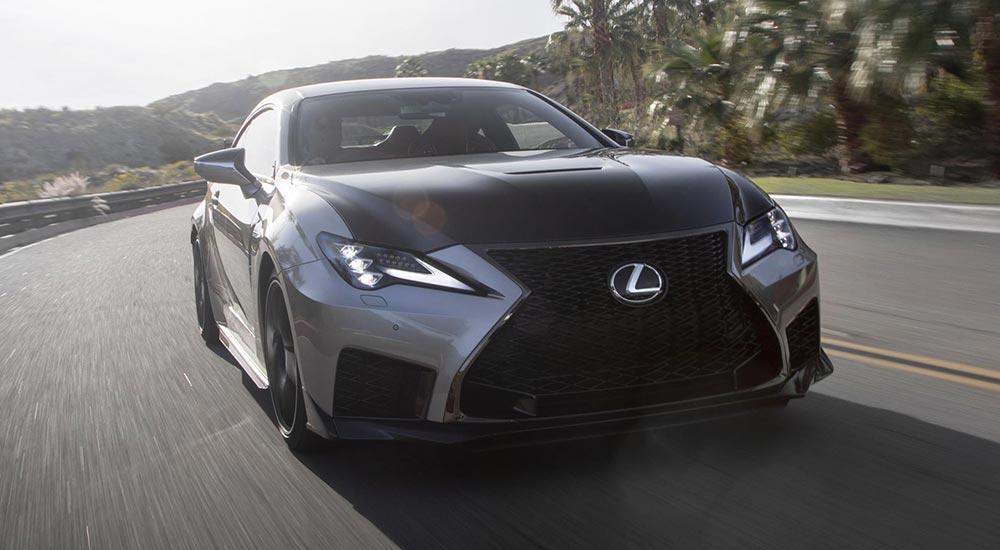 Lexus RC F Track Edition Top Gear
