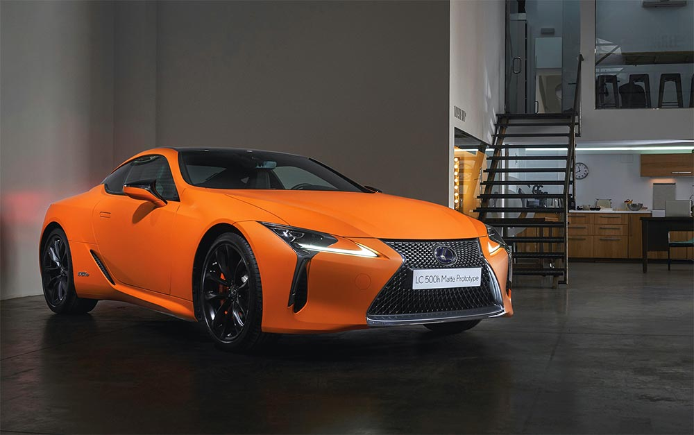 Lexus LC Space Orange Prototype