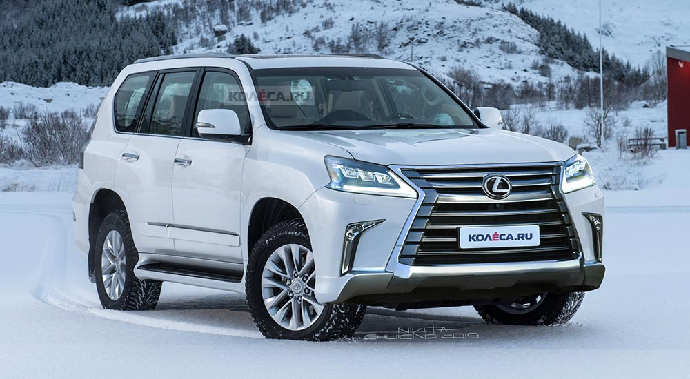Will The Updated 2020 Lexus Gx 460 Look Like This Lexus Enthusiast