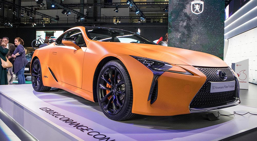Lexus LC 500h Space Orange