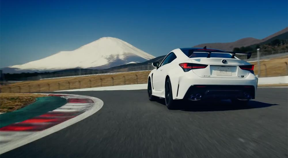 Lexus RC F Movie Japan