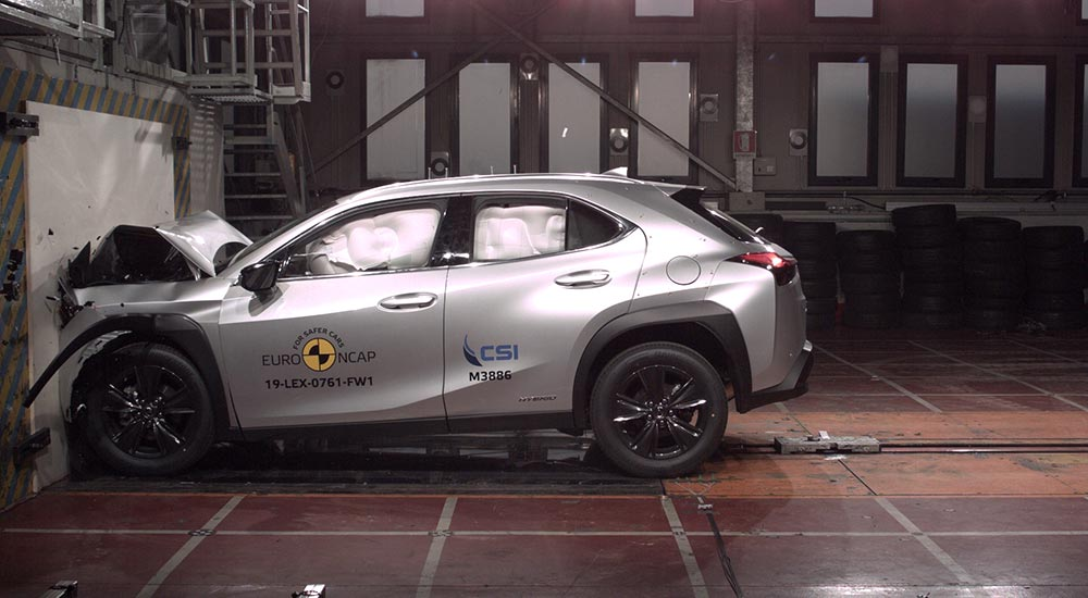 Lexus UX Crash Safety