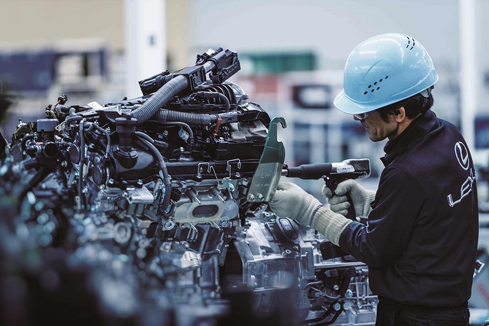 Lexus LC Motomachi Engine