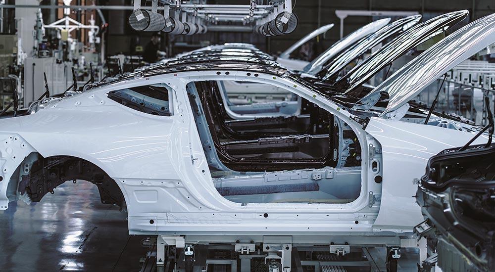 Lexus LC Frames