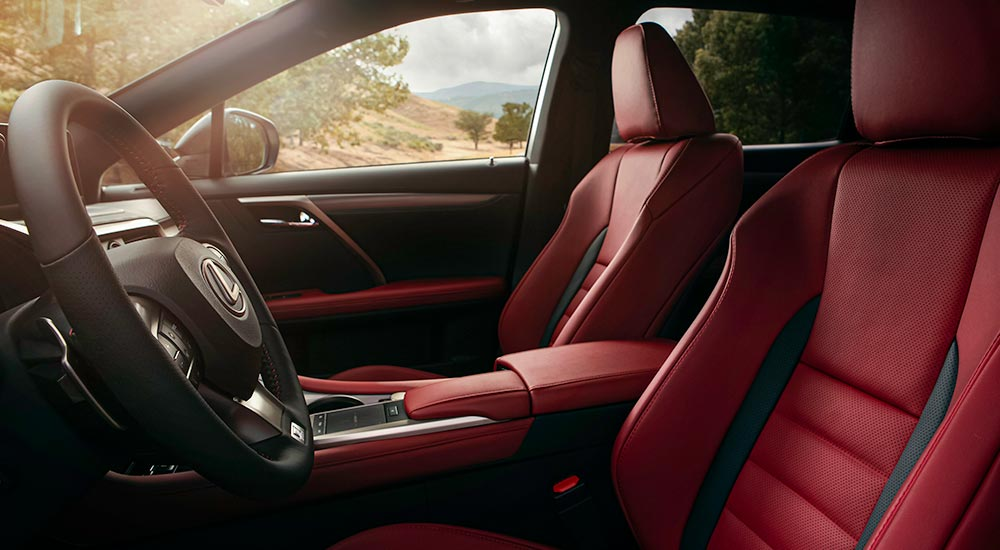 Lexus RX Seats 2020