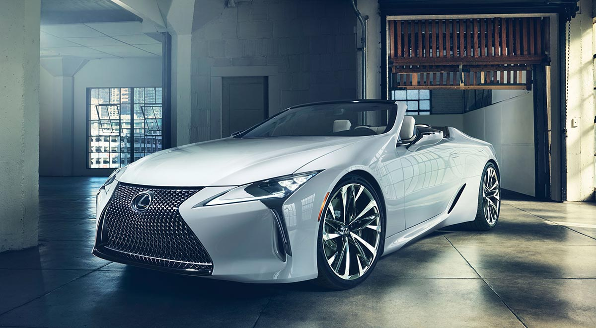 Lexus LC Convertible Production