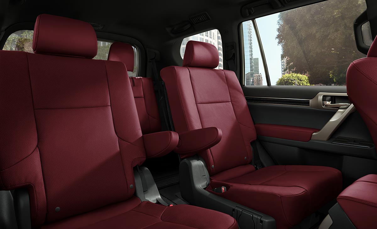 Lexus Red Interior GX