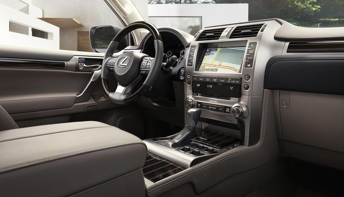 Lexus GX Interior AGain