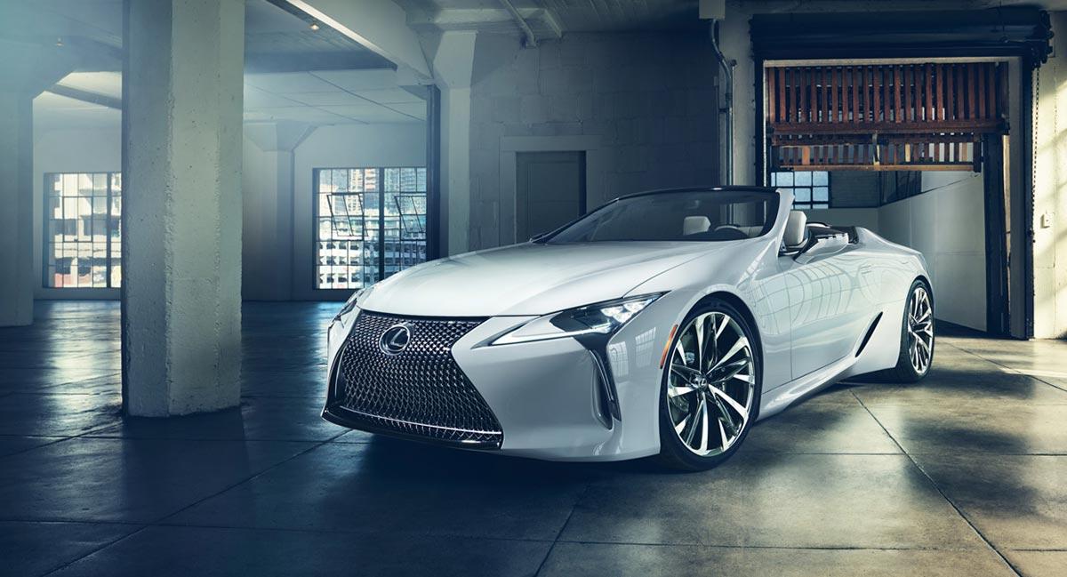 Lexus LC Convertible Australia