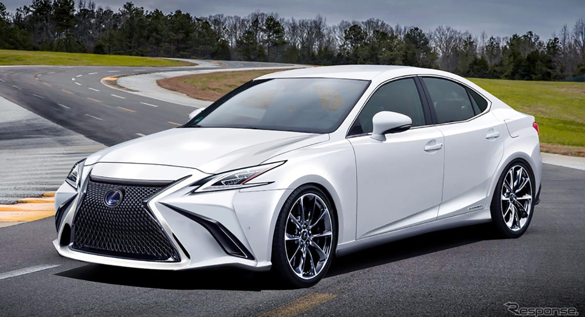 Next-Generation Lexus IS & IS F Sedans Coming in 2021 ...