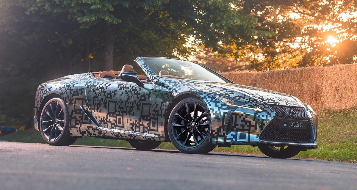 Lexus LC Convertible Sales