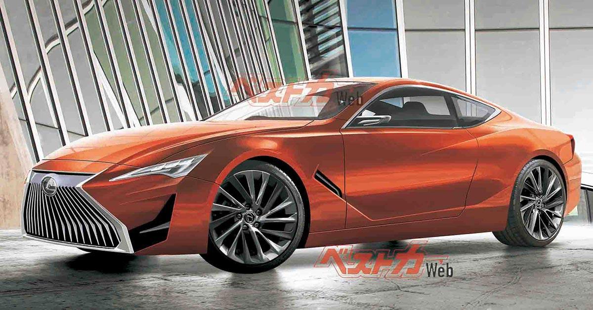 Lexus RC Mazda