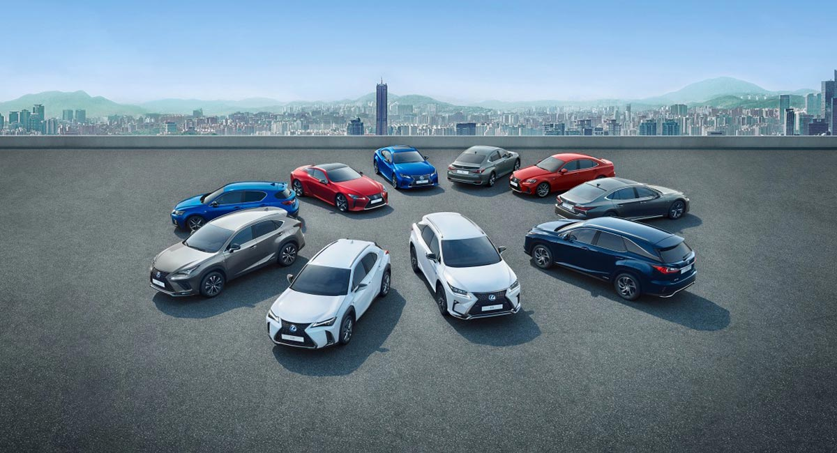Lexus UX Global Sales Report