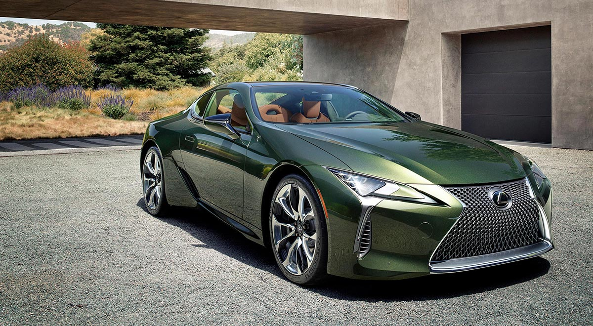 Lexus Debuts Limited Edition Lc 500 In Classic Color