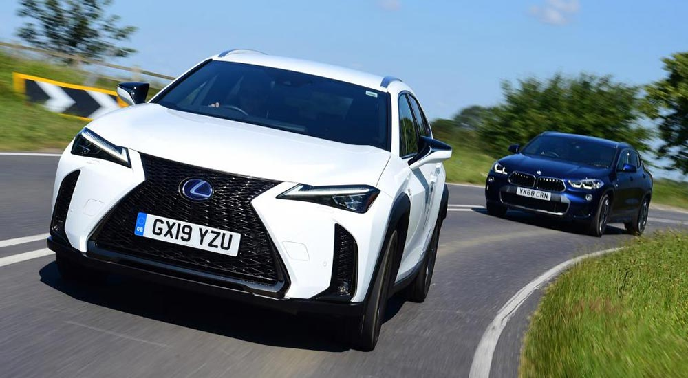 Lexus Nx Vs Rx >> Review: Auto Express Compares the Lexus UX vs BMW X2 | Lexus Enthusiast