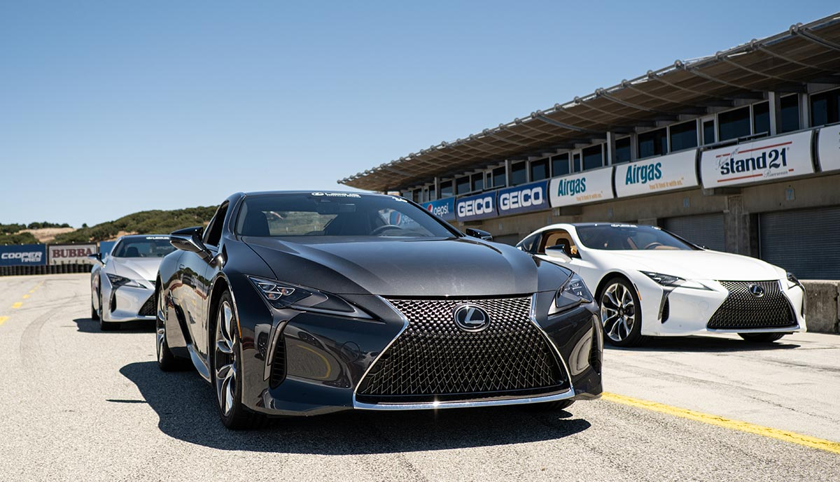 Lexus Performance Track Nebula Gray