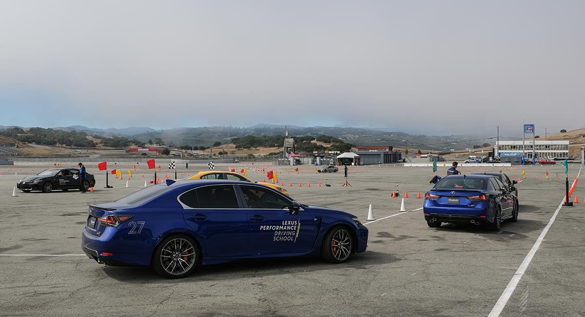 Lexus Autocross Performance