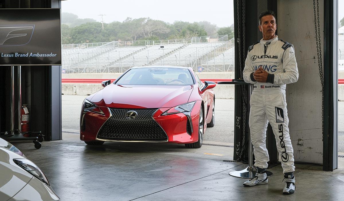 Lexus Scott Pruett Performance Driving