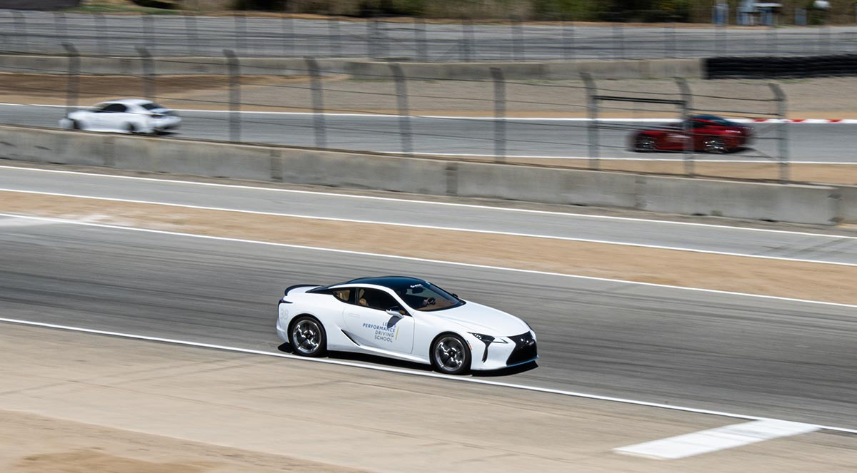 Lexus LC Track Time