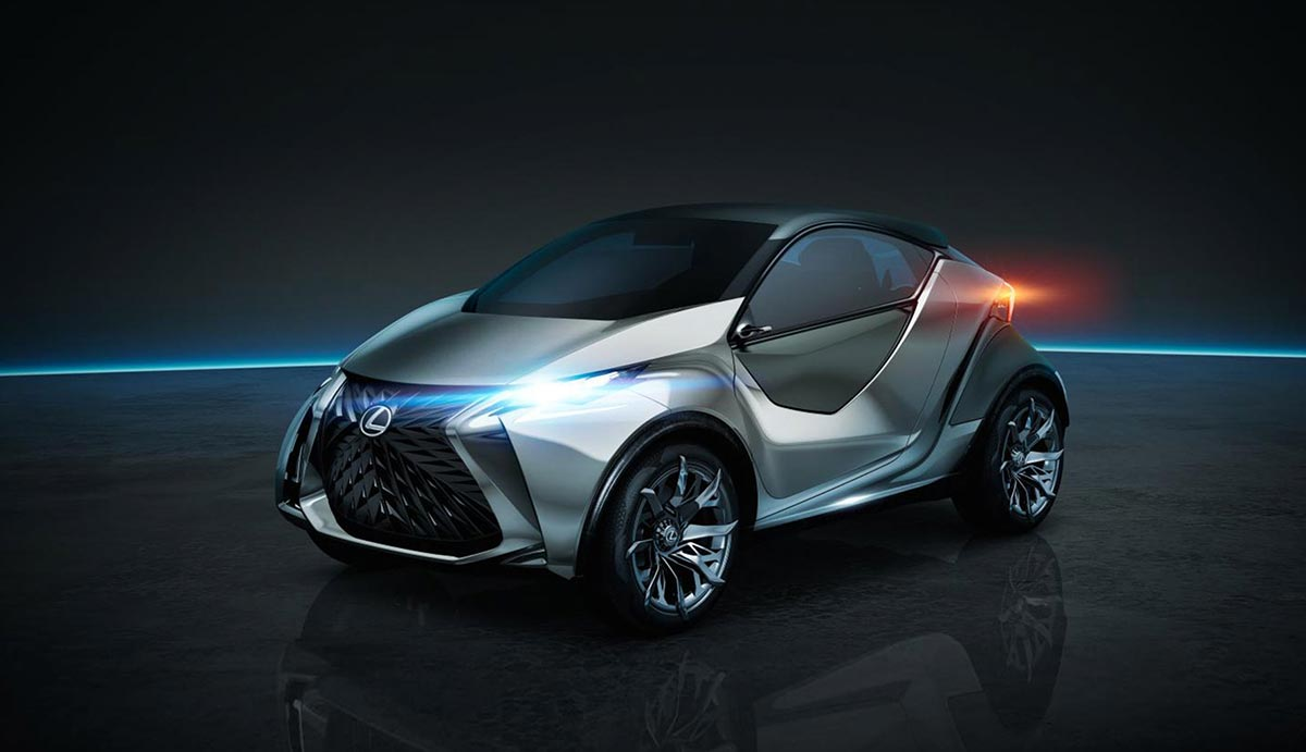 Lexus LF-SA City Car EV