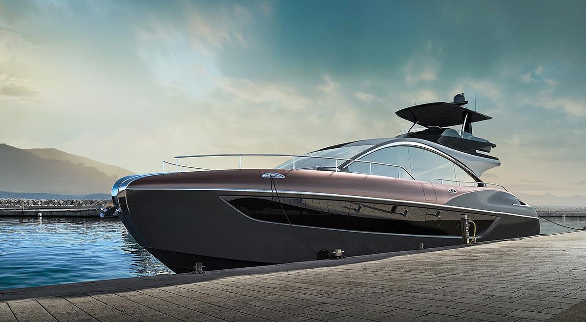 Lexus LY 650 Yacht Craftsmanship