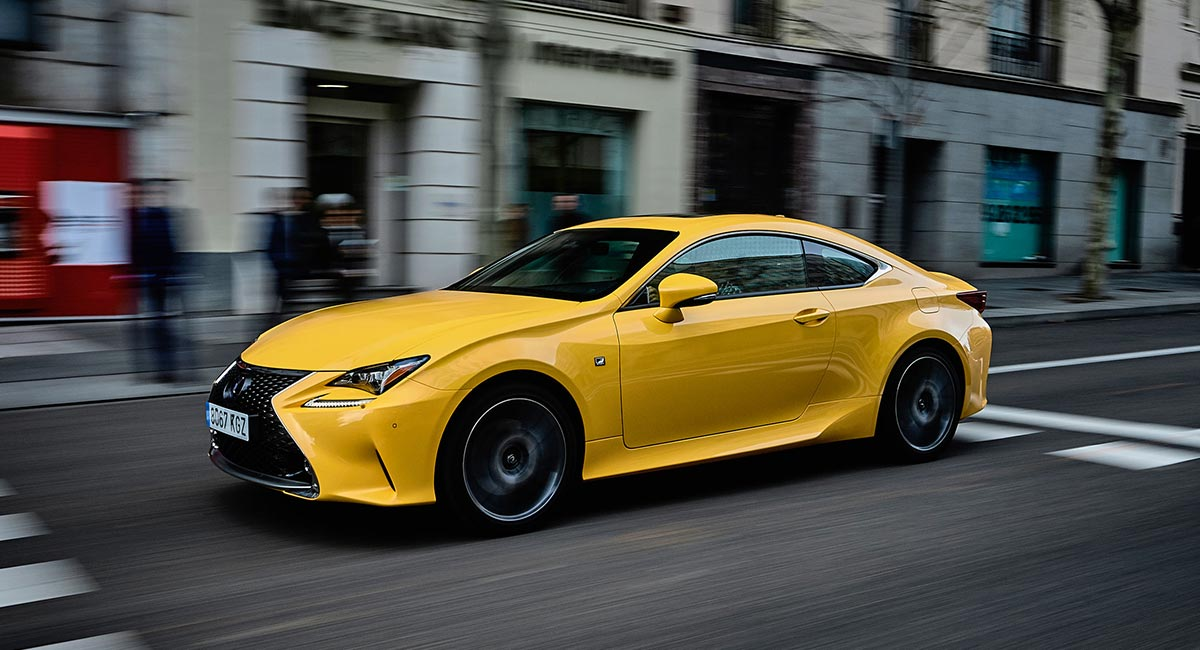 Lexus RC Resale Value