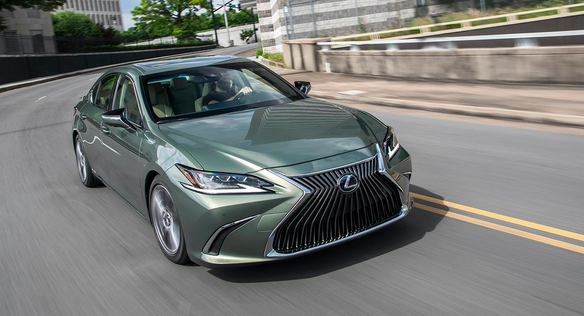 Lexus August Sales ES