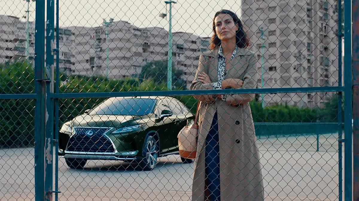 Lexus RX Commercial Japan