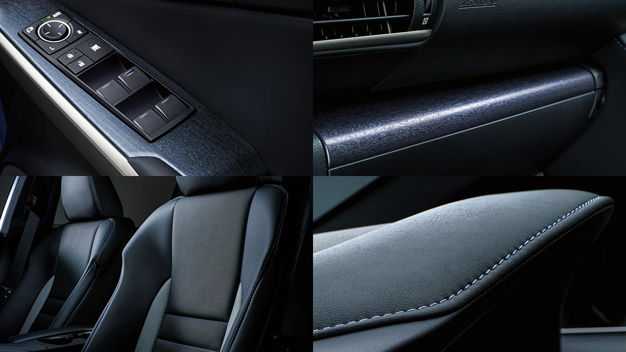 Lexus IS Interior Details