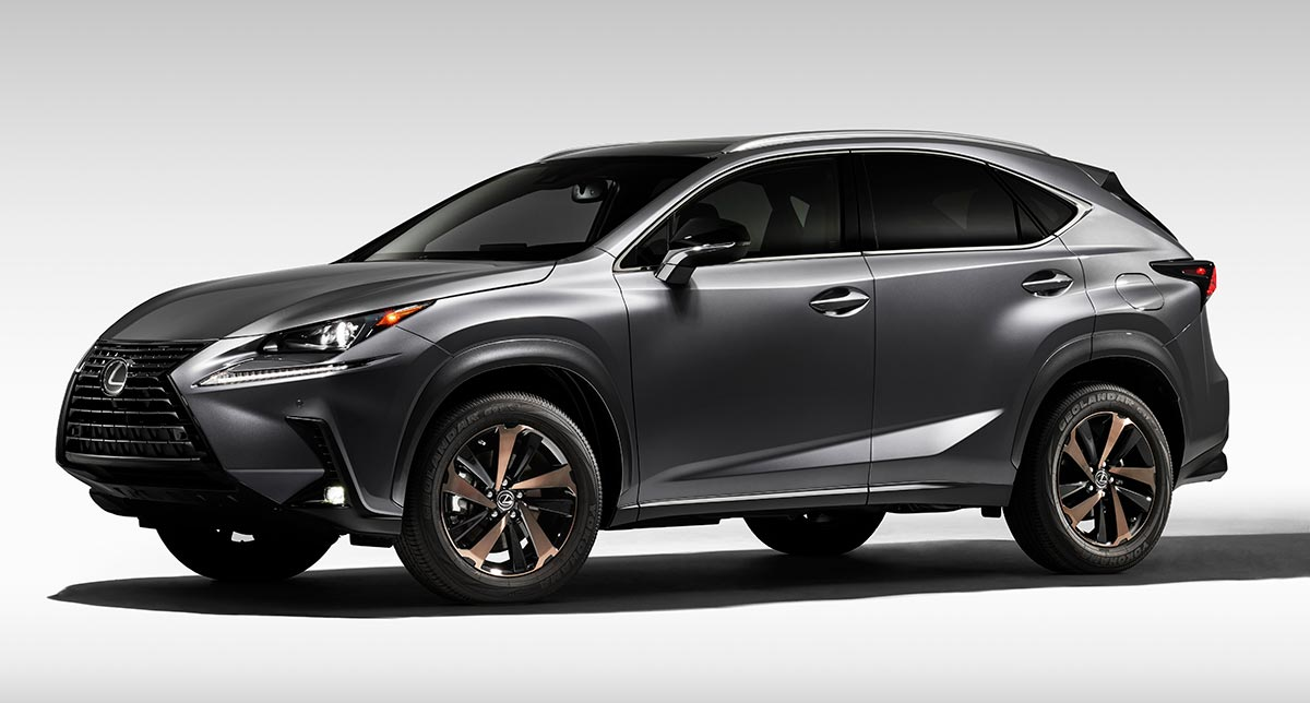 Lexus NX Black Line Mark 2