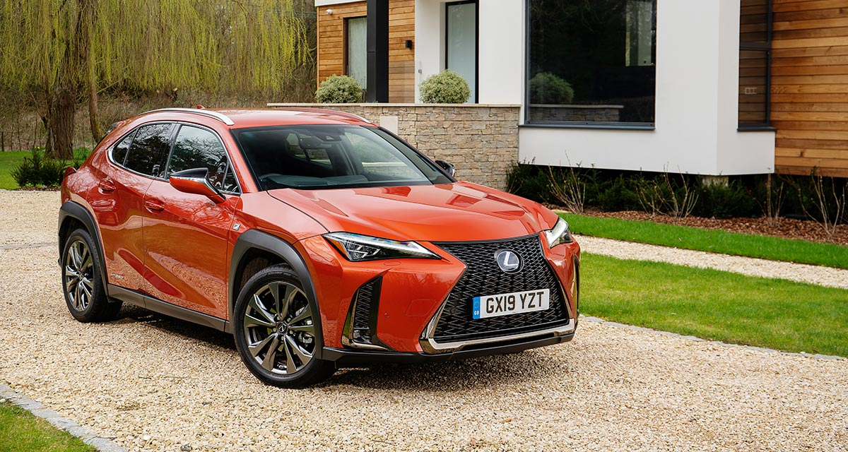 Lexus UX UK Sales